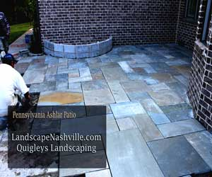 Franklin Patios Pennsylvania Ashlar slate