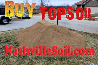 Nashville Topsoil Photo of a pile of dirt.