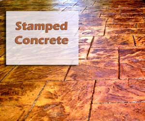 Franklin Stamped Concrete patio, nashville concrete patios