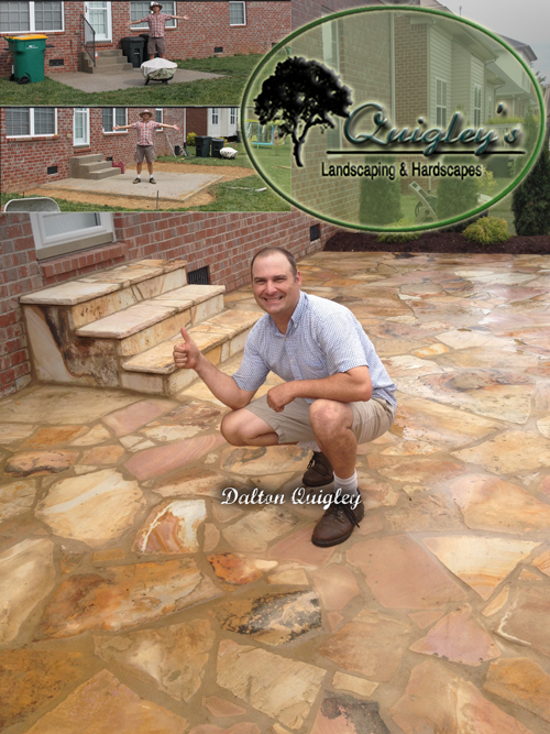 Quigley's Builds Nashville Patios of all kinds, Stone, Pavers, and Concrete.